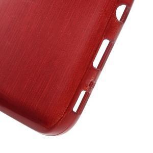 Brush gelový obal na mobil Samsung Galaxy S7 - červený - 4