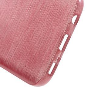 Brush gelový obal na mobil Samsung Galaxy S7 - růžový - 4