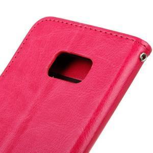 Stand peněženkové pouzdro na Samsung Galaxy S7 - rose - 4