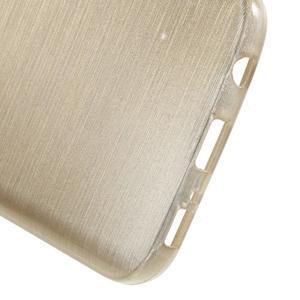 Brush gelový obal na mobil Samsung Galaxy S7 - zlatý - 4
