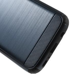 Dvoudílný odolný kryt na Samsung Galaxy S7 - tmavěmodrý - 4