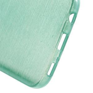 Brush gelový obal na mobil Samsung Galaxy S7 - cyan - 4