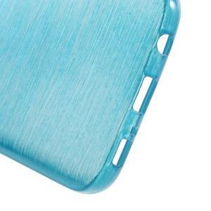 Brush gelový obal na mobil Samsung Galaxy S7 - modrý - 4