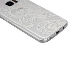 Pictu gelový obal na mobil Samsung Galaxy S7 - malované květiny - 4