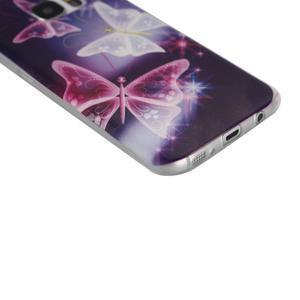 Pictu gelový obal na mobil Samsung Galaxy S7 - kouzelní motýlci - 4