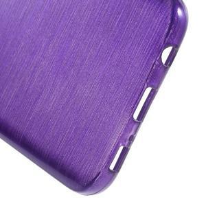 Brush gelový obal na mobil Samsung Galaxy S7 - fialový - 4