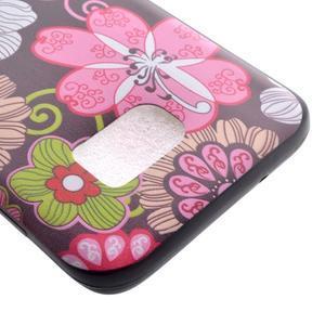 Backy gelový obal na Samsung Galaxy S7 edge - květiny - 4