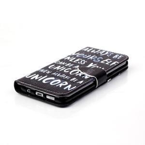 Cross peněženkové pouzdro na Samsung Galaxy S7 edge - unicorn - 4