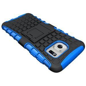 Odolný outdoor kryt na Samsung Galaxy S7 edge - modrý - 4