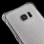 Glitter gelový obal na Samsung Galaxy S7 edge - transparentní - 4/5