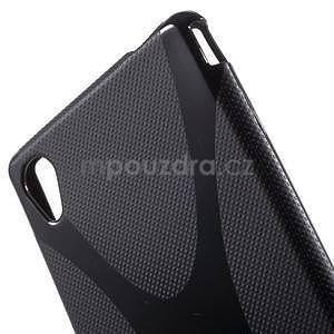 Černý gelový obal na Sony Xperia M4 Aqua - 4