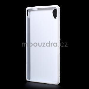 Bílý gelový obal na Sony Xperia M4 Aqua - 4