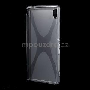 Šedý gelový obal na Sony Xperia M4 Aqua - 4