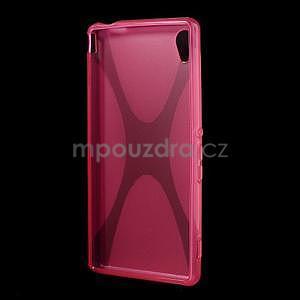 Rose gelový obal na Sony Xperia M4 Aqua - 4