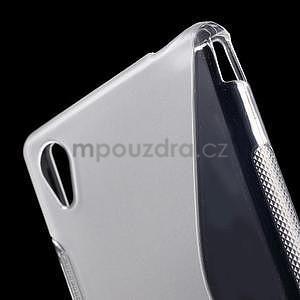 Transparentní s-line pružný obal na Sony Xperia M4 Aqua - 4