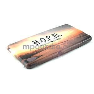 Gelový kryt na Sony Xperia M4 Aqua - H.O.P.E. - 4