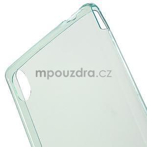 Azurový ultra tenký obal na Sony Xperia M4 Aqua - 4