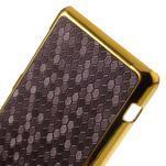 Elegantní obal na mobil Sony Xperia Z1 Compact - fialový - 4/5