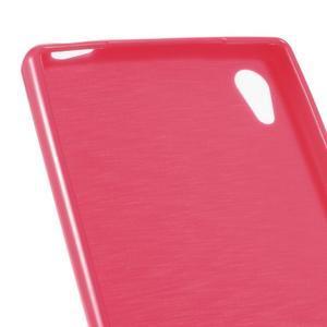 Gloss lesklý gelový obal na Sony Xperia Z5 - rose - 4