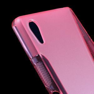 Sline gelový kryt na mobil Sony Xperia Z5 - rose - 4