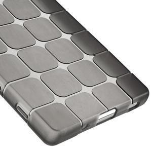 Square gelový obal na Sony Xperia Z5 - šedý - 4