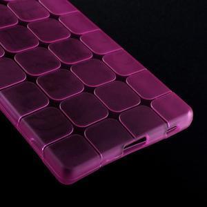 Square gelový obal na Sony Xperia Z5 - rose - 4
