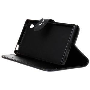 Koženkové pouzdro na mobil Sony Xperia Z5 - nedotýkat se - 4
