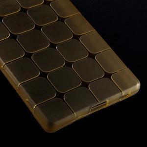 Square gelový obal na Sony Xperia Z5 - zlatý - 4