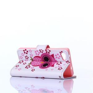 Sand pouzdro na mobil Sony Xperia Z5 Compact - sovička - 4