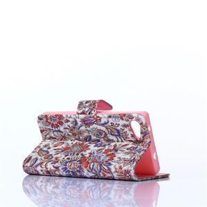 Sand pouzdro na mobil Sony Xperia Z5 Compact - retro květiny - 4