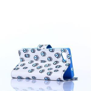 Sand pouzdro na mobil Sony Xperia Z5 Compact - modrá očka - 4
