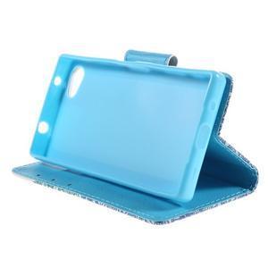 Diary peněženkové pouzdro na Sony Xperia Z5 Compact - slon - 4
