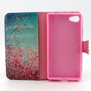 Kelly pouzdro na mobil Sony Xperia Z5 Compact - kvetoucí strom - 4
