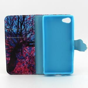 Kelly pouzdro na mobil Sony Xperia Z5 Compact - větve stromu - 4