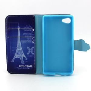 Kelly pouzdro na mobil Sony Xperia Z5 Compact - Eiffelova věž - 4