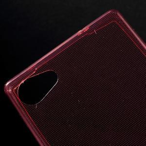 Ultratenký slim gelový obal na Sony Xperia Z5 Compact - červený - 4