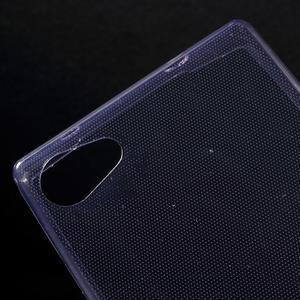Ultratenký slim gélový obal pre Sony Xperia Z5 Compact - fialový - 4