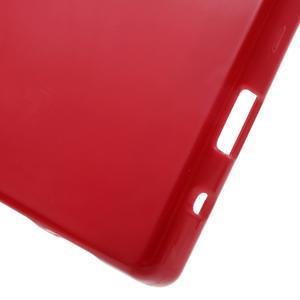 Solid lesklý gelový obal na mobi Sony Xperia Z5 Compact - červený - 4