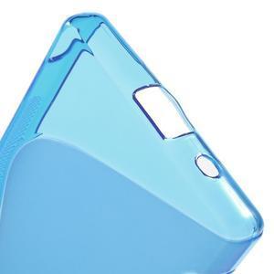 S-line gelový obal na Sony Xperia Z5 Compact - modrý - 4