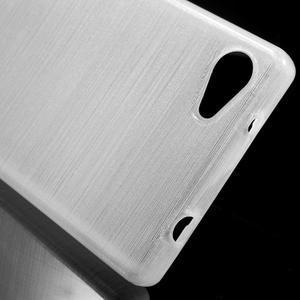 Brush gelový obal na Sony Xperia Z5 Compact - bílý - 4