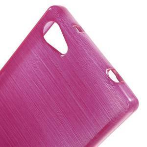 Brush gelový obal na Sony Xperia Z5 Compact - rose - 4