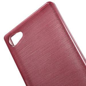 Brush gelový obal na Sony Xperia Z5 Compact - růžový - 4