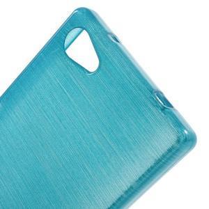 Brush gelový obal na Sony Xperia Z5 Compact - modrý - 4
