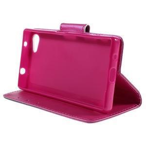 Diary peněženkové pouzdro na Sony Xperia Z5 Compact - srdce - 4