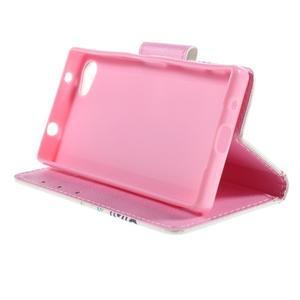Diary peněženkové pouzdro na Sony Xperia Z5 Compact - motýlci - 4