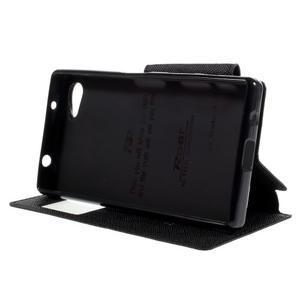 Pouzdro s okýnkem na Sony Xperia Z5 Compact - černé - 4