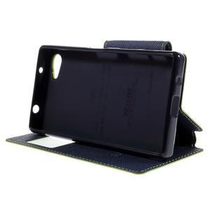 Pouzdro s okýnkem na Sony Xperia Z5 Compact - zelené - 4