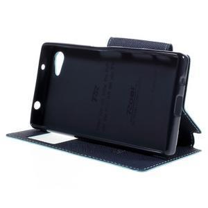 Pouzdro s okýnkem na Sony Xperia Z5 Compact - světlemodré - 4