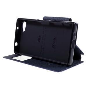Pouzdro s okýnkem na Sony Xperia Z5 Compact - fialové - 4