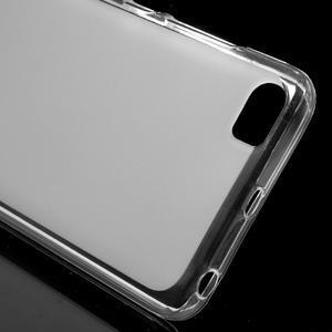 Matný gelový obal na mobil Xiaomi Mi5 - bílý - 4